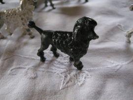 Bild 4 - 10 Bleifiguren Pudel Hund Figuren - Birkenheide Feuerberg