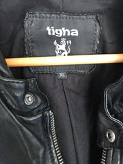 Tigha Lederjacke Gr XL