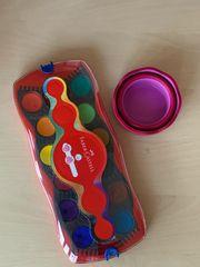 Wasserfarben Pinsel Becher Faber Castell