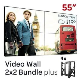 Sonstiger Gewerbebedarf - 110 Videowall Videowand Verleih Messe