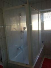 DUSCHLUX Badewanne -Duschabtrennung