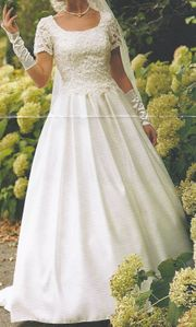 Tolles LILLY-Brautkleid Gr 36 Farbe champagner