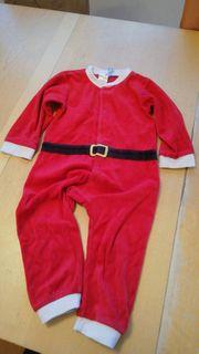 baby Strampler Weihnachten gr 86
