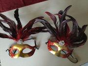 Venezianische Maske Feuer