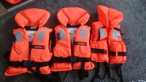 Rettungsweste Schwimmweste Kinder 3 Stück