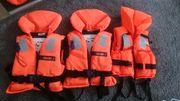 Rettungsweste Schwimmweste Kinder insgesamt 3