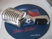 Dynamisches ELVIS Mikrofon silber KM-66R