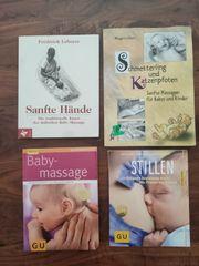 Babymassagebücher Stillbuch