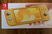 Nintendo Switch Lite in gelb