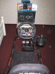 Playstation Challenge Gaming seat Stuhl