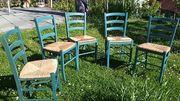 5 Stühle