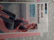 Bein- und Rückentrainer