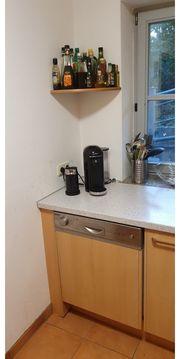 Einbauküche L-förmig mit Geräten