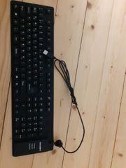 Flexible Tastatur mit Zahlenblock