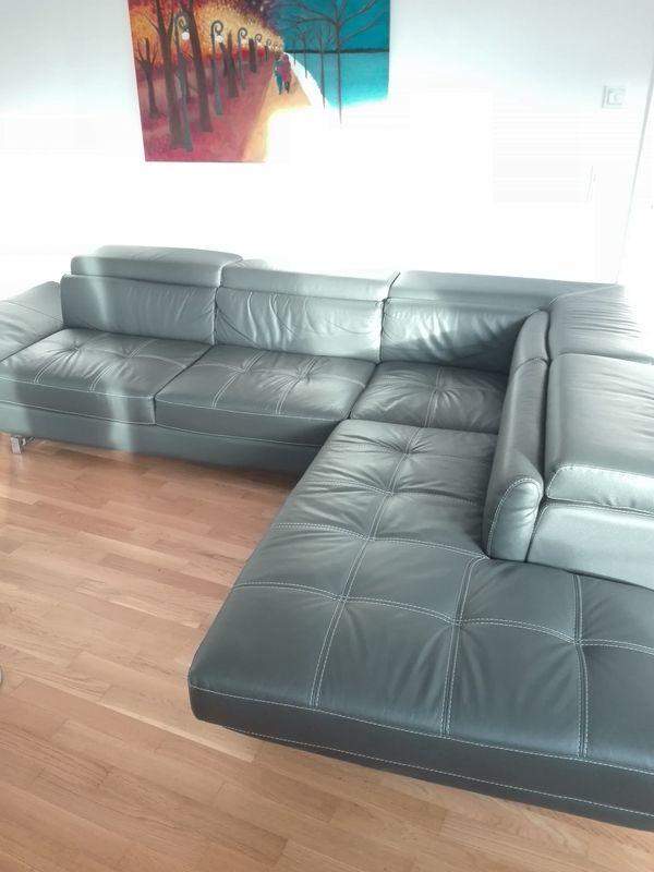 0fba5d3cd5ae86 Edles Sofa   Couch aus Leder