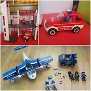 Playmobil Set Polizei Feuerwache