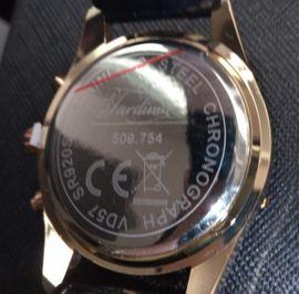 Armbanduhr Chronograph gold schwarz: Kleinanzeigen aus Berlin Lichtenrade - Rubrik Uhren