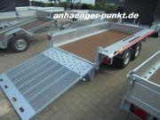 PKW MINI- Bagger- Anhänger Baumaschinen