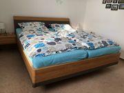 Hochwertiges Schlafzimmer Schrank Doppelbett inkl
