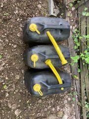 Benzinkanister 20 Liter 3 Stück