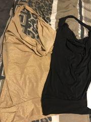 3 neckholder Gold schwarz weiß