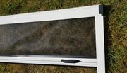 Insektenschutzrollo Fliegengitter weißer Alu Rahmen