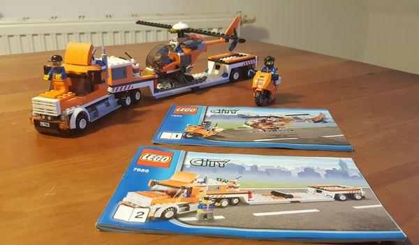 LEGO City Helikopter Transporter 7686