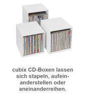 CD Aufbewahrungsbox - cubix ca 50