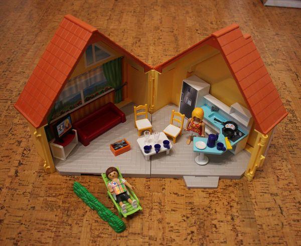 Playmobil 6020 - Aufklapp-Ferienhaus Mitnehmhaus