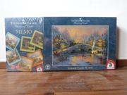 Thomas kinkade Puzzle plus Memoirie