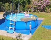 Bestway Pool mit Sicherheitsleiter Rund