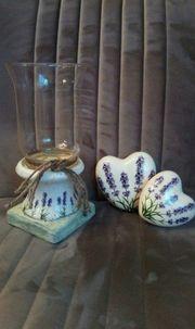 Deco mit Lavendel Motiv