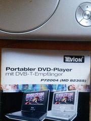 Portabler DVD Player mit Tasche