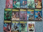 Terra Fantasy Taschenbücher Konvolut 13