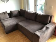 Boxspring-Sofa mit Bettfunktion