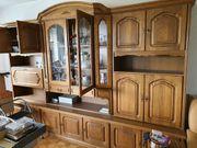 Sehr gut erhaltener Wohnzimmerschrank Eiche