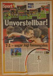 FUSSBALL WM 2014 - GER BRA