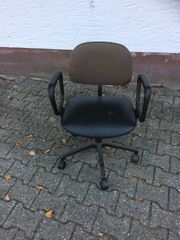 Kleiner Bürostuhl - nicht höhenverstellbar