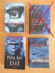 3 x Philipp Kerr - Thriller