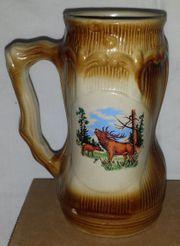 Bierkrug Hirsch 17 5 cm