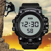 Neu HONHX Elektronische wasserdichte Armbanduhr