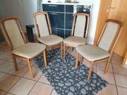 4 Esstischstühle zu verschenken