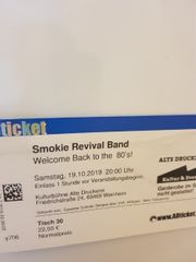 SMOKIE Eintrittskarten Revival BAND