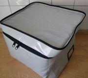 Graue Tasche Kühltasche