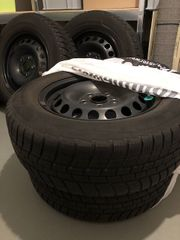 VW Touran Wintereifen Michelin Alpin