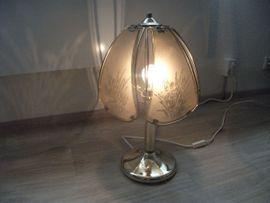 Lampen - Tischlampe Messing