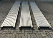 3 Aluminium Stege Bohlen Maße