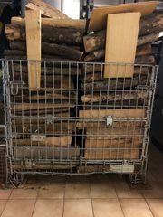 Faltbare Gitterbox mit Klappe Länge