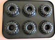 Muffinblech Gugelhupfformen 6 Stück pro