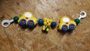 Rasselband Spielband für Kinderwagen